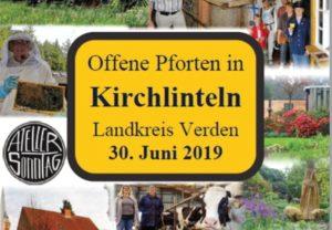 Offene Pforten in Kirchlinteln @ Kirchlinteln-Groß Heins, Richtung Idsingen, Vor der Lehrde-Brücke rechts bei der Jagdscheune